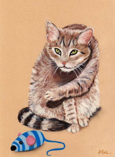 Painting - Want To Play by Anastasiya Malakhova