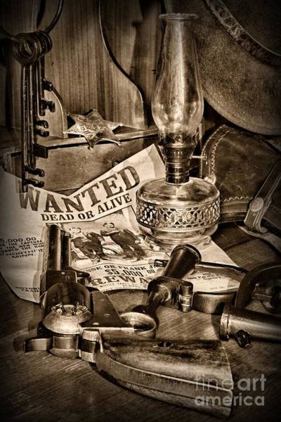 Quick Wall Art - Photograph - Wanted Dead Or Alive by Paul Ward