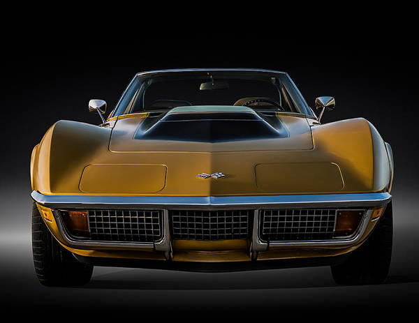 Corvette Wall Art - Digital Art - War Bonnet by Douglas Pittman