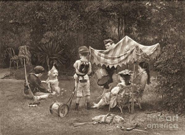 Wall Art - Photograph - War Games 1877 by Padre Art