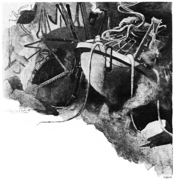 Drawing - War Of The Worlds, 1898 by Granger