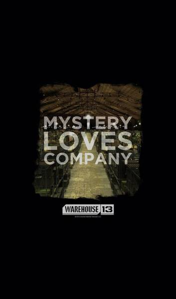 Wall Art - Digital Art - Warehouse 13 - Mystery Loves by Brand A