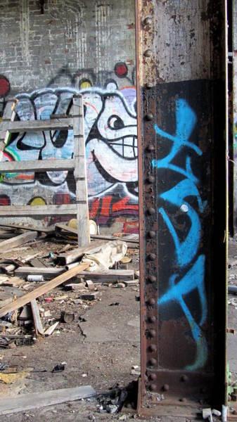 Photograph - Warehouse Girder by Anita Burgermeister