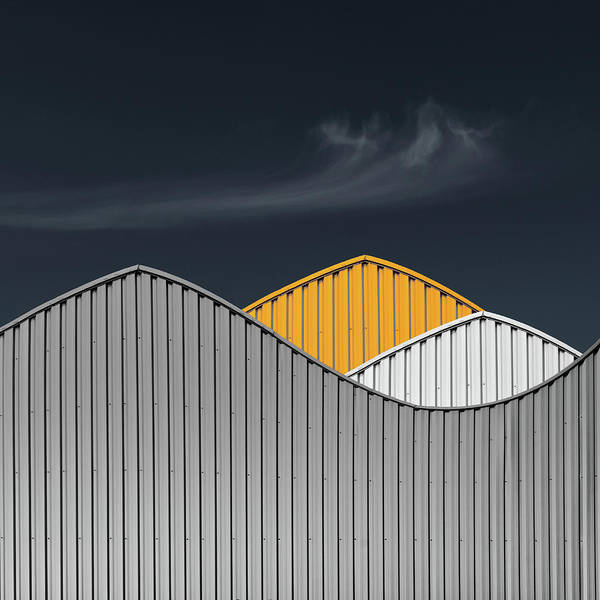 Layers Wall Art - Photograph - Warehouses by Luc Vangindertael (lagrange)