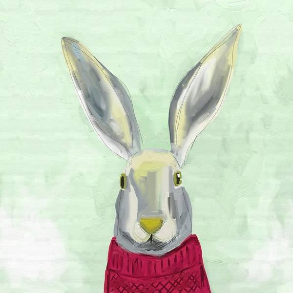 Mammals Wall Art - Photograph - Warm Bunny by Cathy Walters