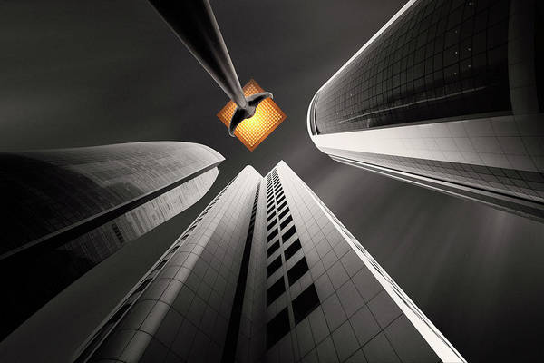 City Streets Photograph - Warm Hopes by Ahmed Thabet