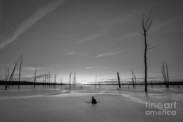 Nikon D800 Wall Art - Photograph - Warm Ice Bw by Michael Ver Sprill