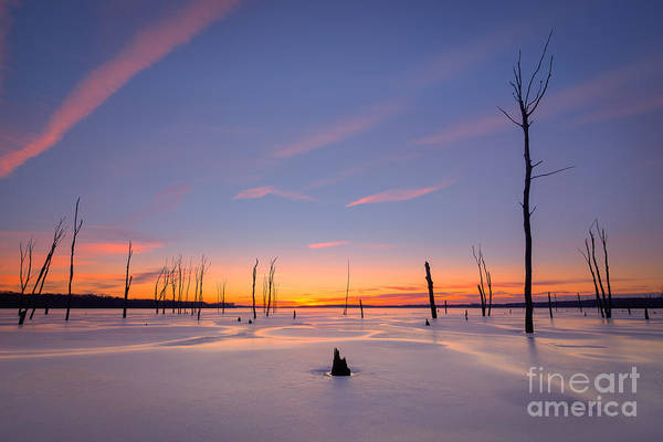 D800 Photograph - Warm Ice by Michael Ver Sprill