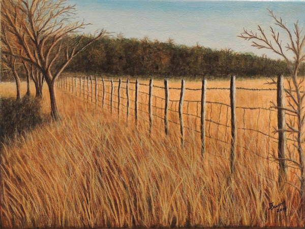 Painting - Warm Memories Of A Cool Morning by David Swint