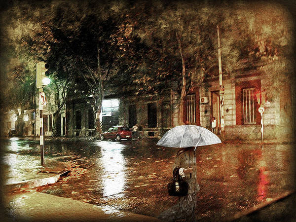 Photograph - Warm Rainy Evening by Pennie McCracken