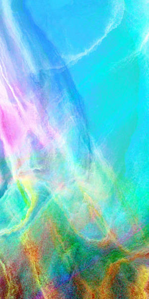 Mixed Media - Warm Seas II - Abstract Art by Jaison Cianelli