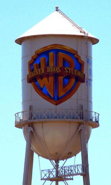 Warner Bros Studios Art Print