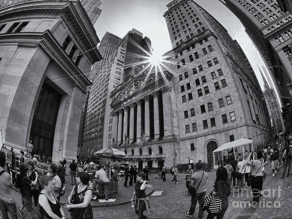 Wall Art - Photograph - Warped Wall Street by Mark Miller