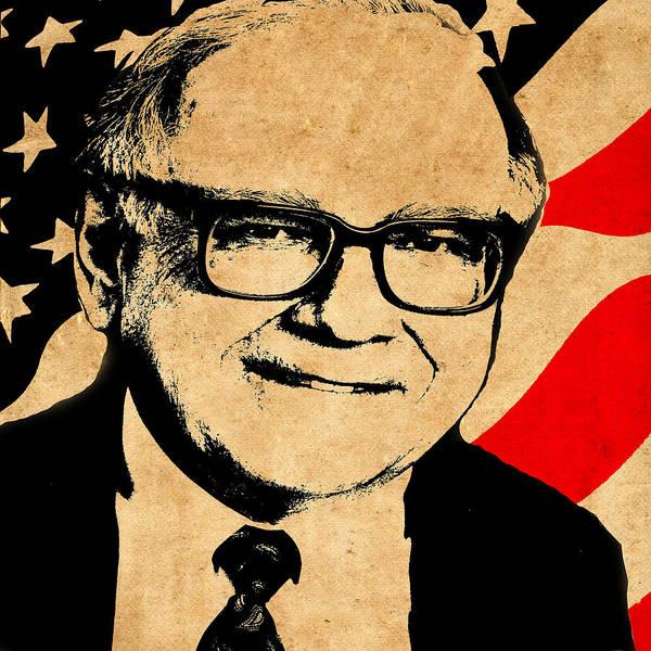 Photograph - Warren Buffett by Andrew Fare