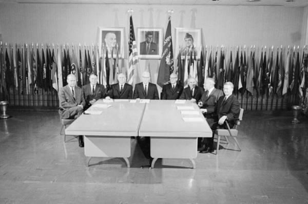 Photograph - Warren Commission, 1964 by Granger