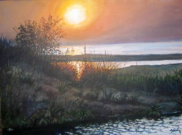 Painting - Warren Dunes Sunset by William Brody