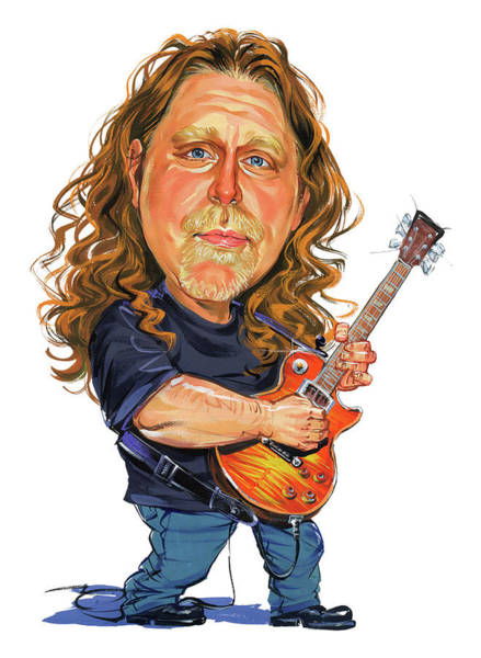 Marvelous Wall Art - Painting - Warren Haynes by Art