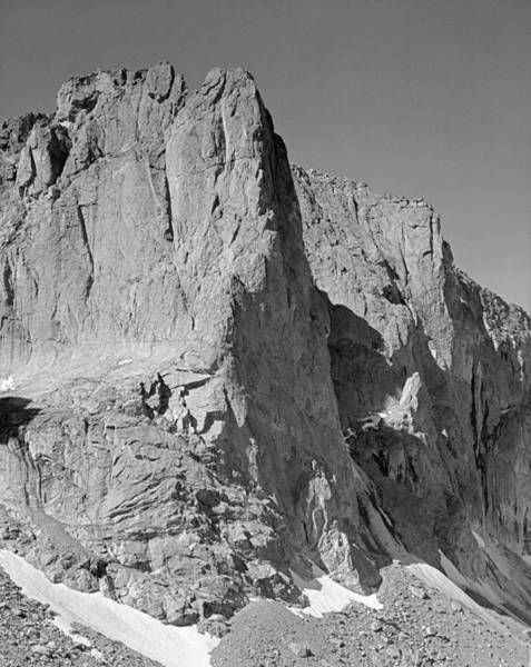 Photograph - 209624-bw-warrior 1 And Warrior 2, Wind Rivers by Ed  Cooper Photography