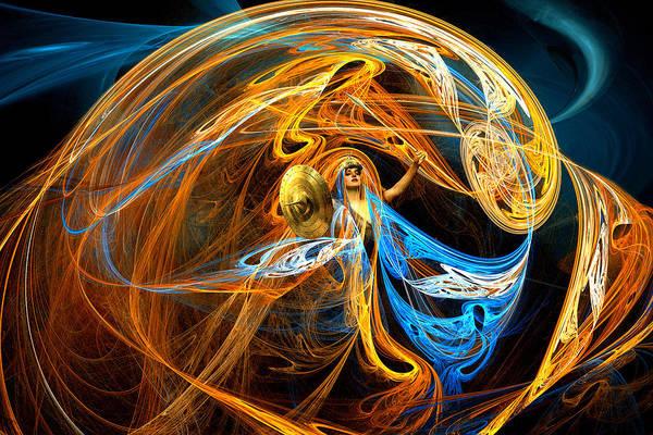 Valkyrie Digital Art - Warrior Queen by Lisa Yount