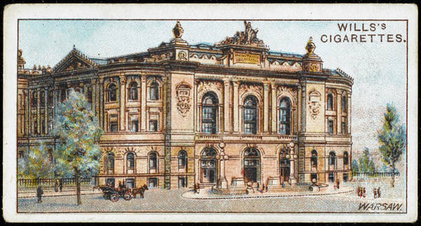 Early 20th Century Drawing - Warsaw  The Polytechnic Institute by Mary Evans Picture Library