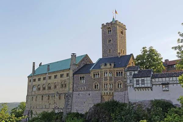 New Testament Photograph - Wartburg Castle by Alfred Pasieka