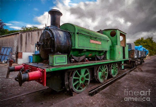 Loco Wall Art - Photograph - Warwickshire No 2047 by Adrian Evans