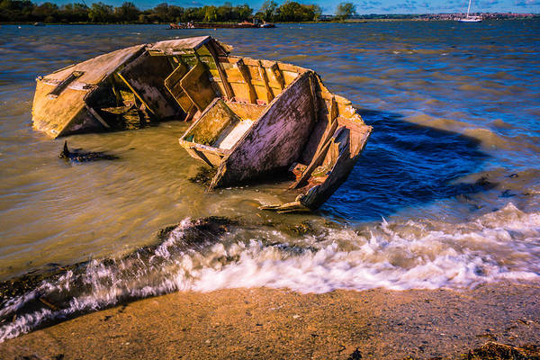 Medway Wall Art - Photograph - Washed Up by Dawn OConnor
