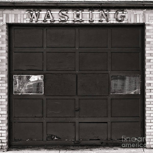 Car Wash Photograph - Washing  by Olivier Le Queinec