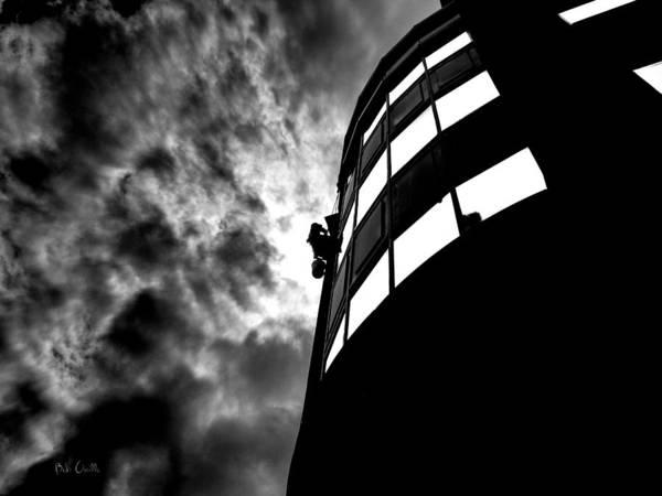 Photograph - Washing Windows by Bob Orsillo