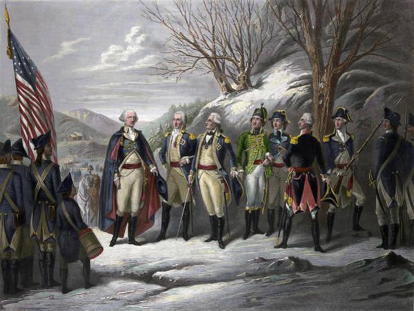 Muhlenberg Photograph - Washington & Generals by Granger