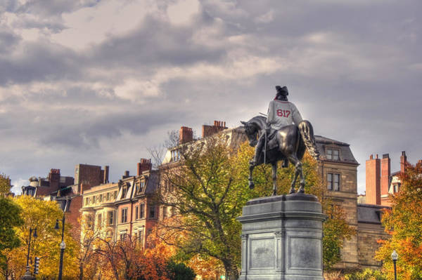 Photograph - Washington And The 617 - Boston by Joann Vitali