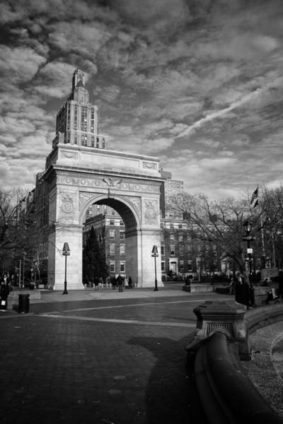 Photograph - Washington Arch by Ben Shields