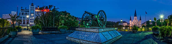 Photograph - Washington Artillery Park In New Orleans by Andy Crawford