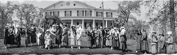 Wall Art - Photograph - Washington College Women 1917 by Fred Schutz Collection