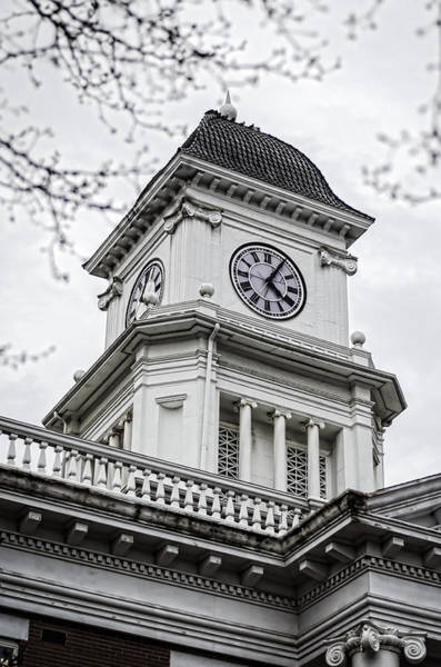 Courthouse Towers Wall Art - Photograph - Washington County Courhouse by Heather Applegate