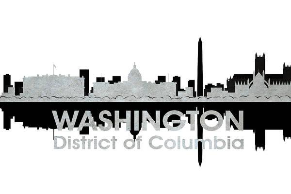 Metropolis Mixed Media - Washington Dc 4 by Angelina Tamez
