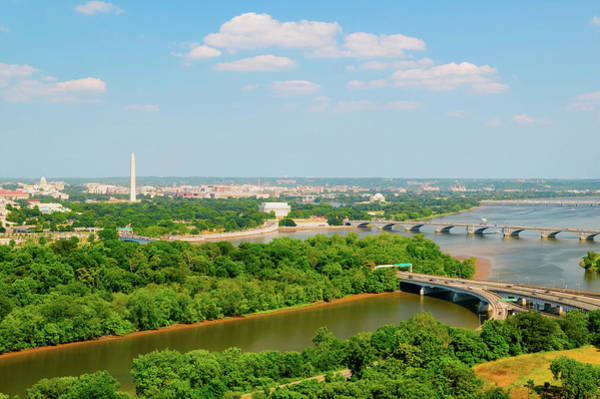 Us Capitol Photograph - Washington D.c. Aerial View by Panoramic Images