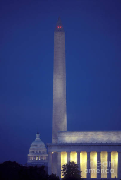 Juxtaposition Photograph - Washington, Dc by Spencer Grant