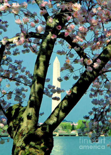 Photograph - Washington Monument by Geoff Crego