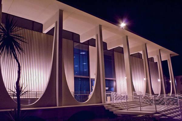 Photograph - Washington Mutual Building Palm Springs by Matthew Bamberg