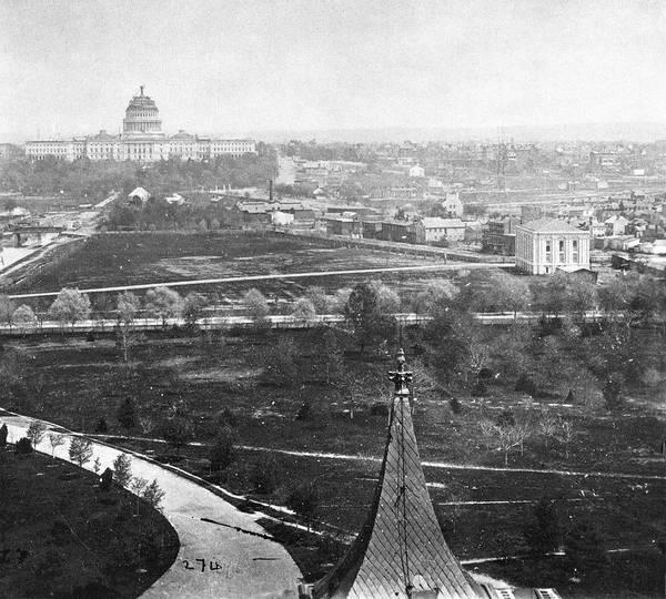 Photograph - Washington National Mall by Granger
