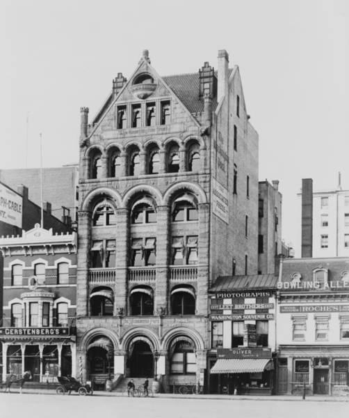 Wall Art - Photograph - Washington Post Building by Granger