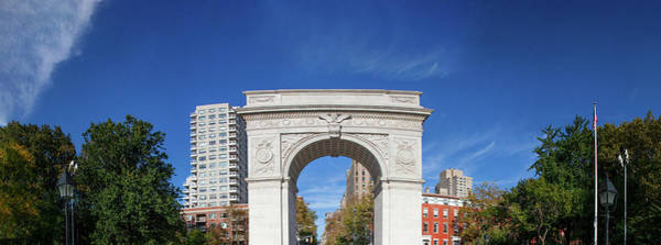 Washington Square Park Wall Art - Photograph - Washington Square Arch In Washington by Panoramic Images