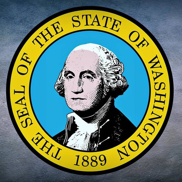 Digital Art - Washington State Seal by Movie Poster Prints