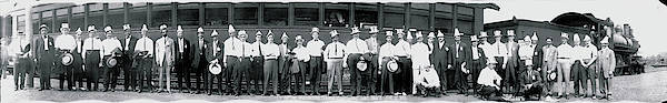 Outing Photograph - Washington Traffic Club At Chesapeake by Fred Schutz Collection