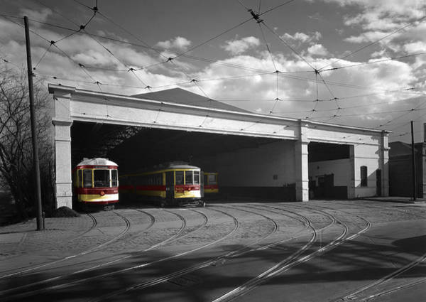 Photograph - Washington Trolleys by Andrew Fare