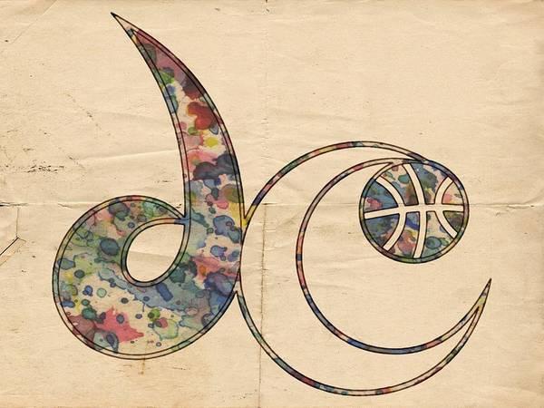 Painting - Washington Wizards Logo Vintage by Florian Rodarte