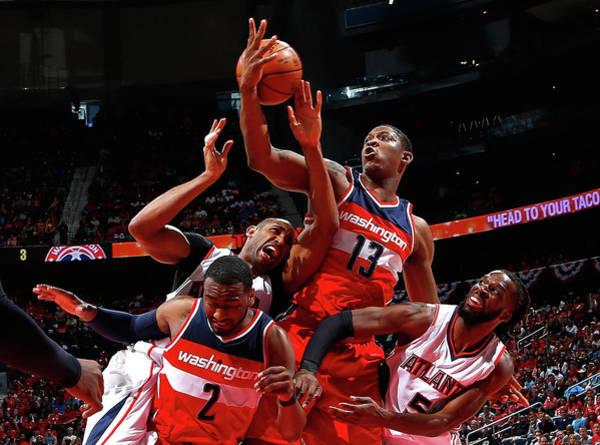 Atlanta Photograph - Washington Wizards V Atlanta Hawks - by Kevin C. Cox