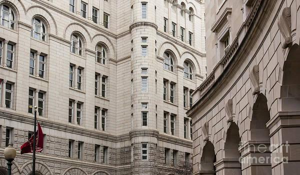 Photograph - Washington Buildings by Steven Ralser