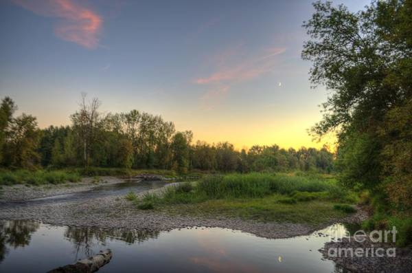 Washougal Photograph - Washougal River Sunset by Matt  Davis